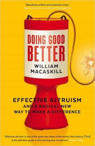 Effective Altruism book