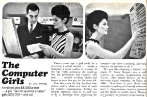 Computer Girls magazine article